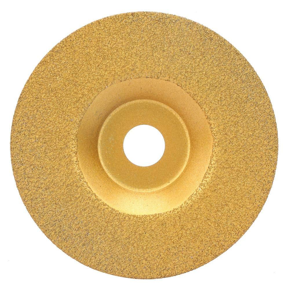 Diamond Saw Blade, 100×16 mm Popular Practical Diamond Saw Blade Circular Saw Blade Diamond Cutting Discs for Polishing Ceramics, Hard Alloys(100×16mm Without Radian)