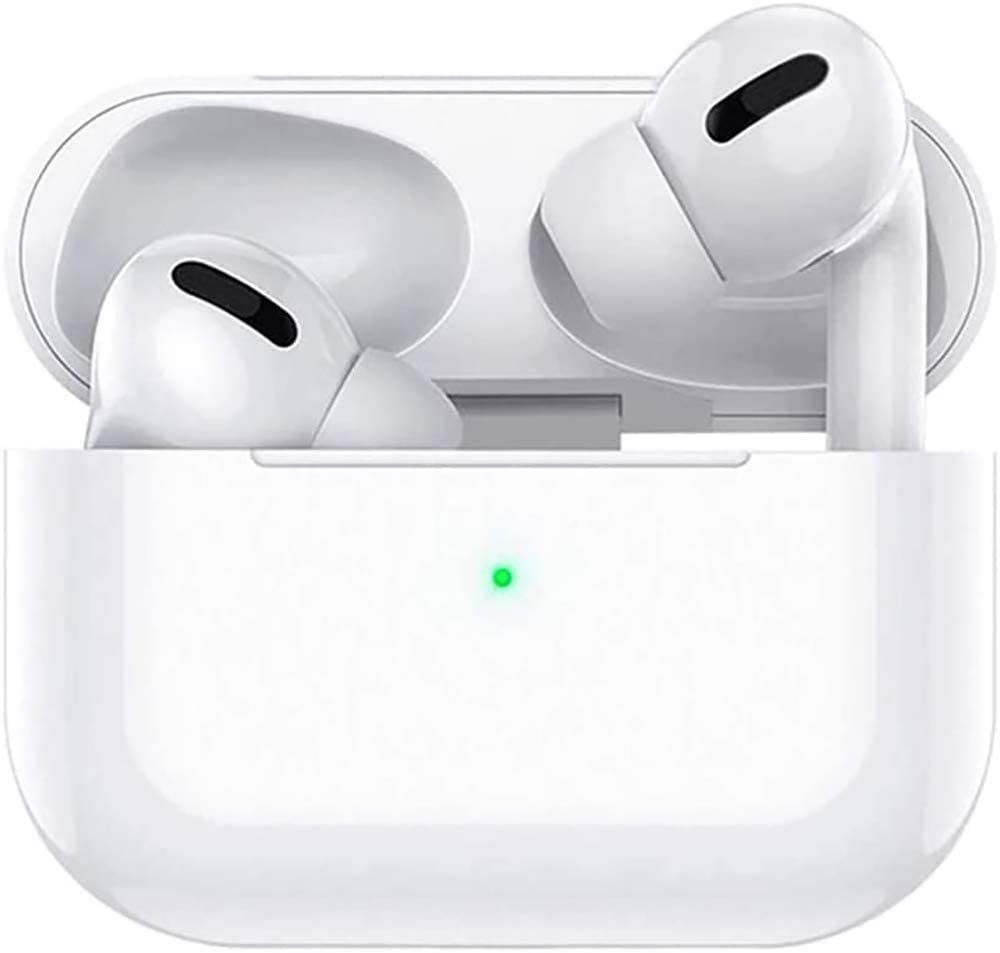 Wireless Earbuds Bluetooth 5.0 with [24 hours charging box], IPX5 waterproof, 3D stereo in-ear headphones, suitable for iPhone/Android/Apple/Airpods