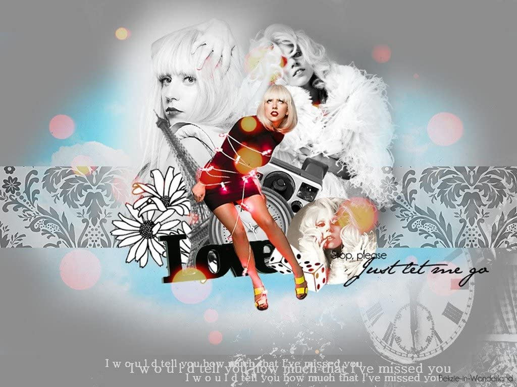 Remarkable Posters Lady Gaga Poster/Print 12 X 18 Inch Ultra HD Multicolour Unframed Rolled Great Wall Décor
