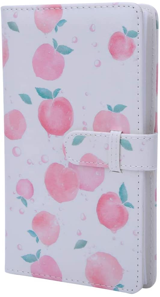Photo Album for Instax Mini 8 9 7s 25 70 90, 16 Page 96 Pockets PU Leather Album for Polaroid Photo