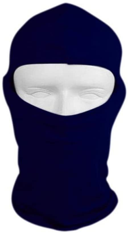 WINOMO Motorcycle Cycling Full Face Mask for Sun UV Protection (Royal Blue)