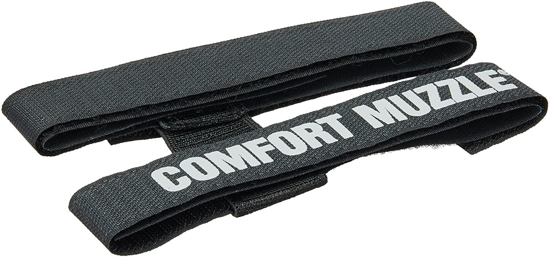Coastal Pet Products DCP1312 Dog Comfort Muzzle, Large, Black