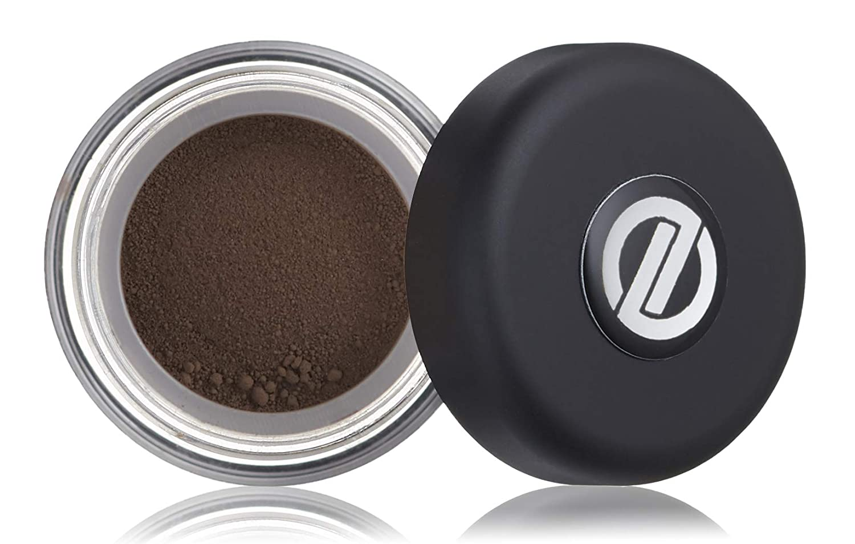 Omiana Matte Loose Powder Eyeshadows - Single Color Long Lasting Makeup, Highly Pigmented Palette, Terra Brown