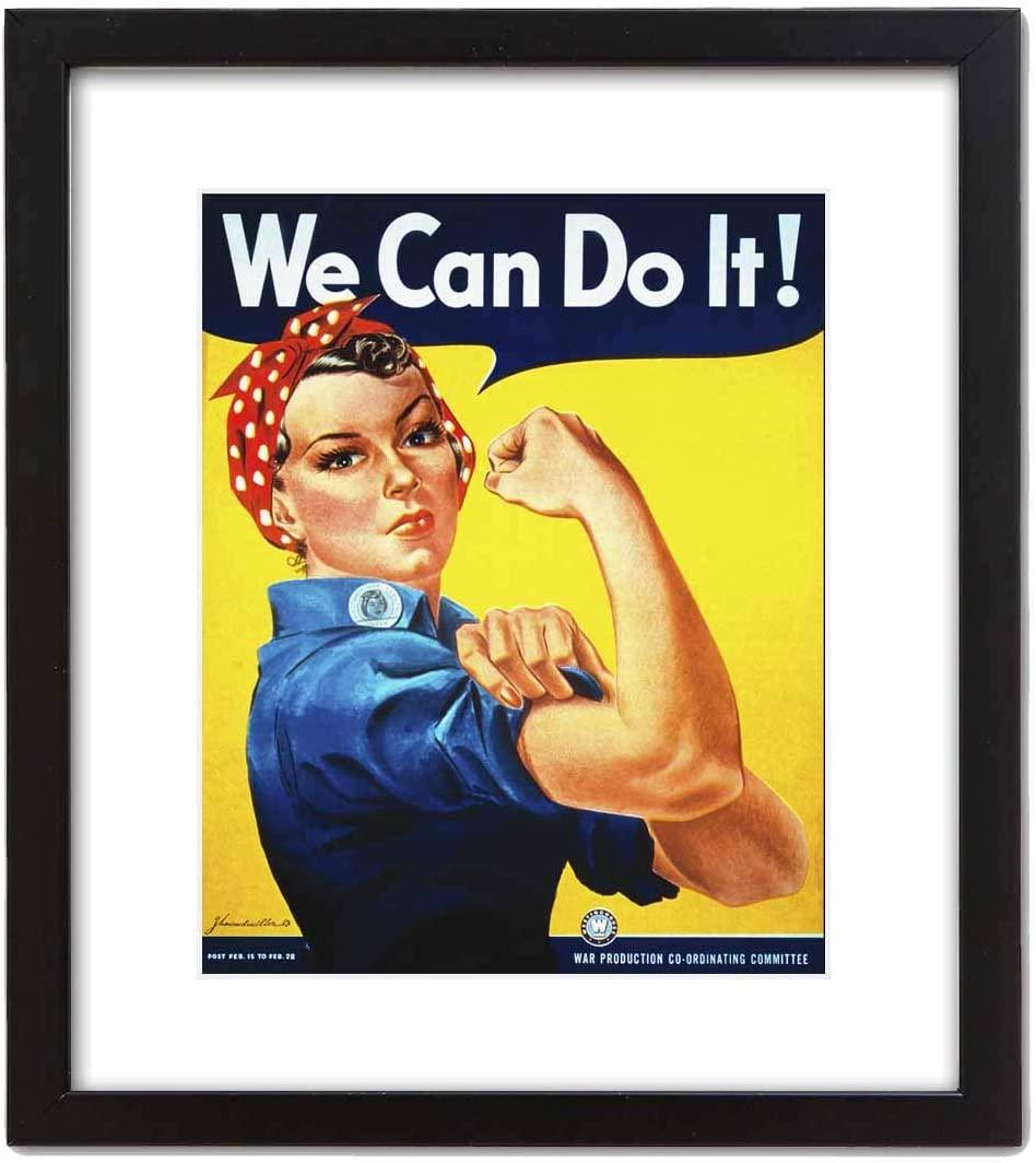 ArtDash Studio Decorative Canvas Art Print: WE CAN DO IT! (8