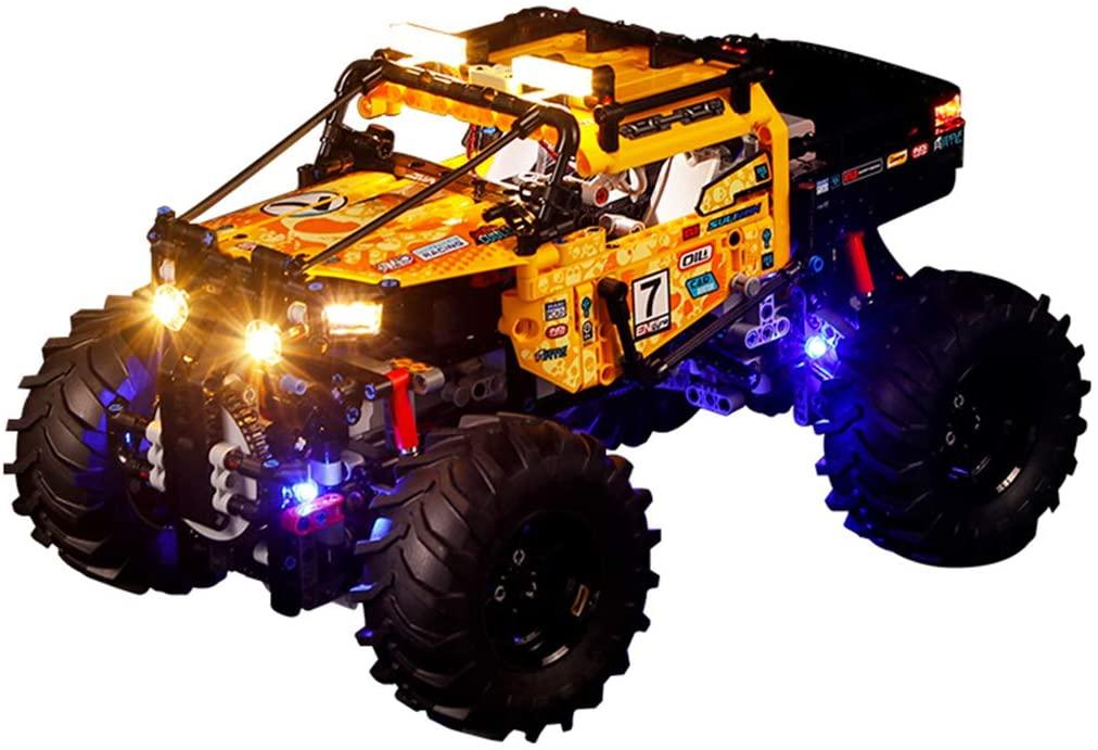 RAVPump Light Set for 4x4 X-treme Off-Roader Blocks Model - LED Light Kit Lighting Kit Compatible with Lego 42099 (ONLY Light Set)