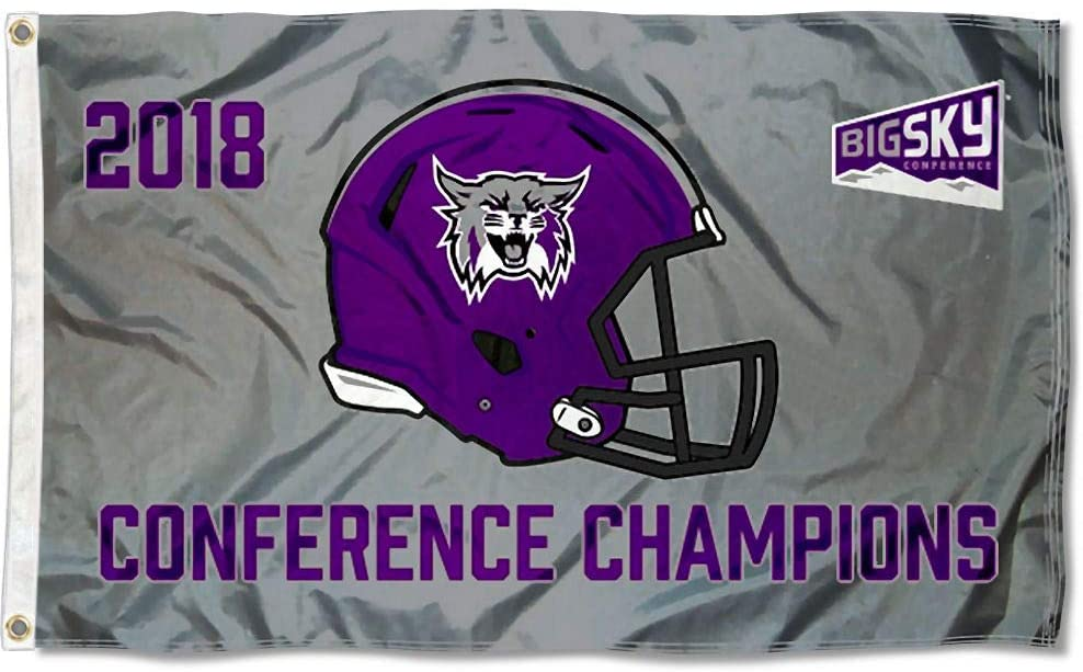 College Flags & Banners Co. Weber State Wildcats 2018 BigSky Conference Football Champions Flag