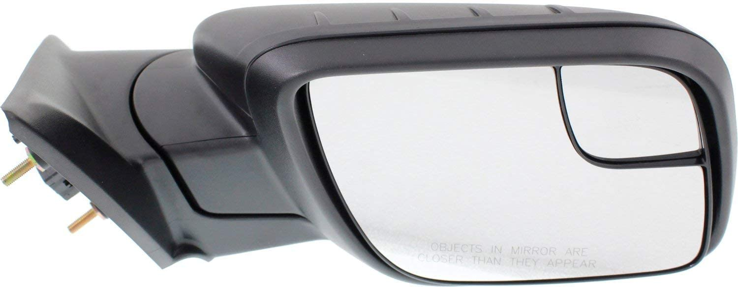 Mirror Compatible For 2011-2015 Ford Explorer Right Passenger Power Glass Textured Black