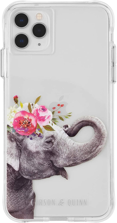 Carson & Quinn Floral Elephant Case - iPhone 11 Pro Max/Xs Max
