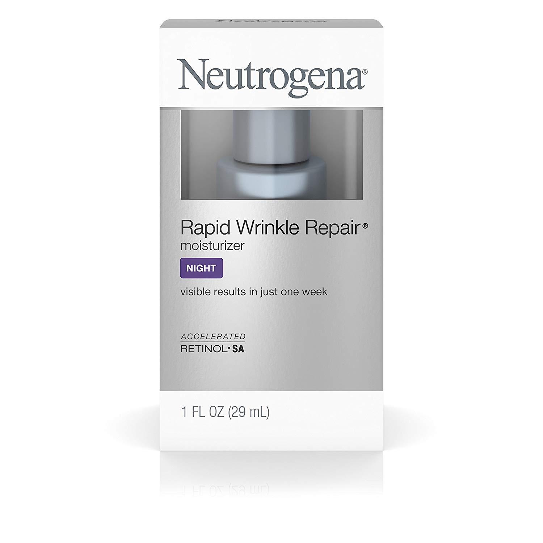 Neutrogena Rapid Wrinkle Repair Moisturizer 1 Ounce Night (29ml) (2 Pack)