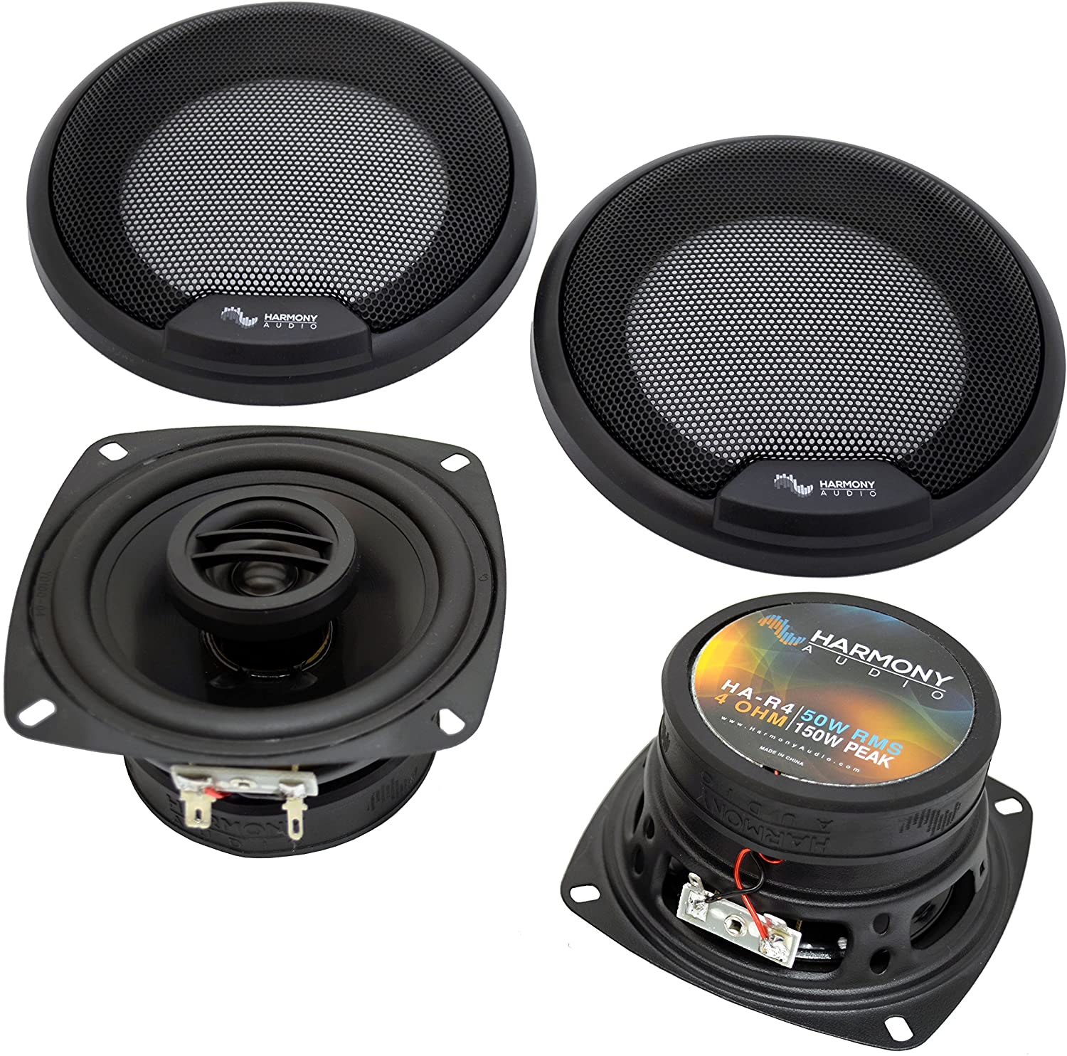Compatible with Toyota MR2 1985-1986 Factory Car Speaker Replacement Harmony R4 Package New