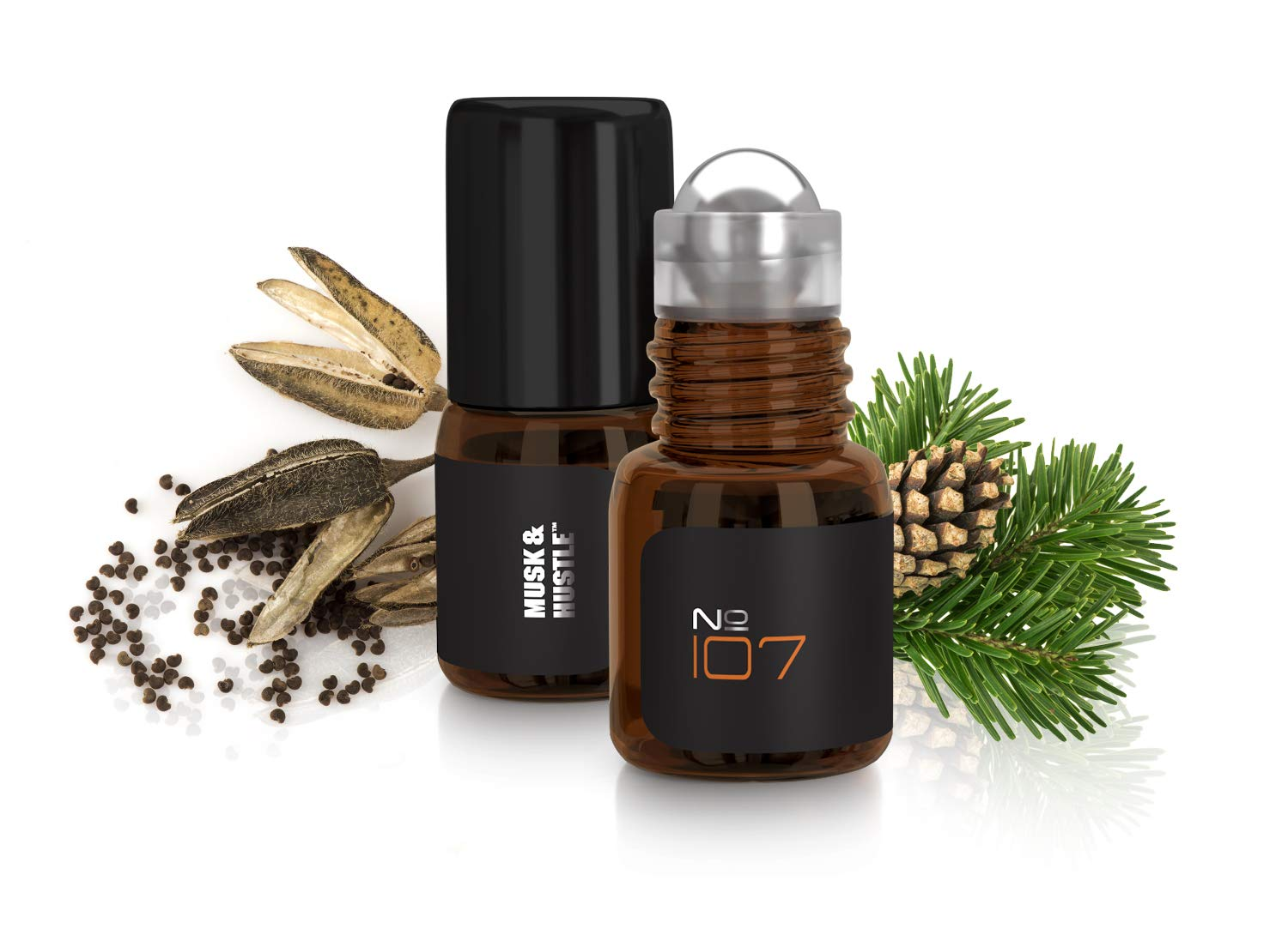 Original Nitro Musk creation of Abercrombie & Fitch Fierce, Pure Oil Cologne for Men, Less Mess & More Concentrated than Solid Cologne, Premium Ingredients, Perfect Sample Size or Pocket Carry