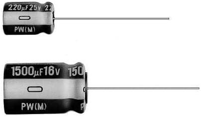Aluminum Electrolytic Capacitors - Radial Leaded 470uF 35V 105c 10x20, Pack of 100 (UPW1V471MPD1TD)