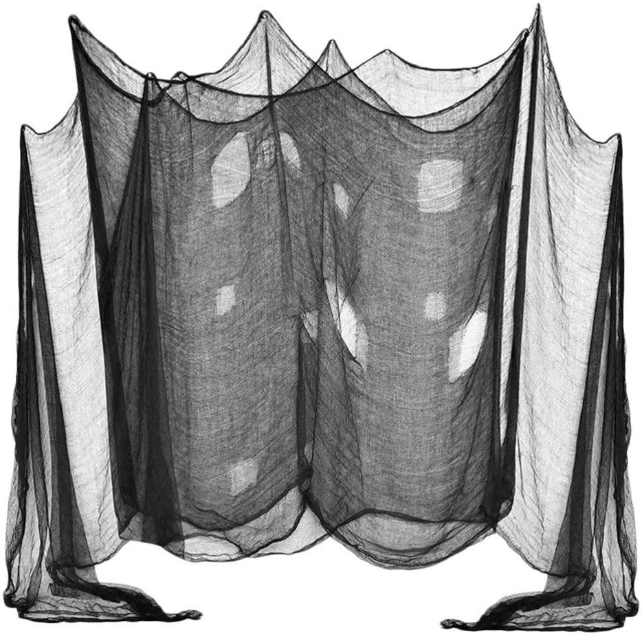 GARNECK Halloween Creepy Cloth Fabric Gauze Drape Doorways Entryways Windows Cover for Halloween Party Bar KTV Haunted House Decor