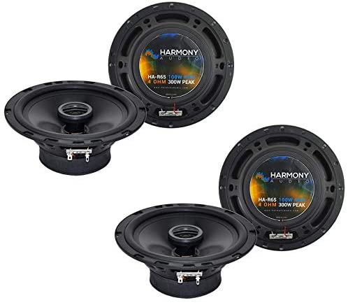 Harmony Audio R65 Factory Speaker Replacement Upgrade Package Compatible with Mercury Milan 2006 2007 2008