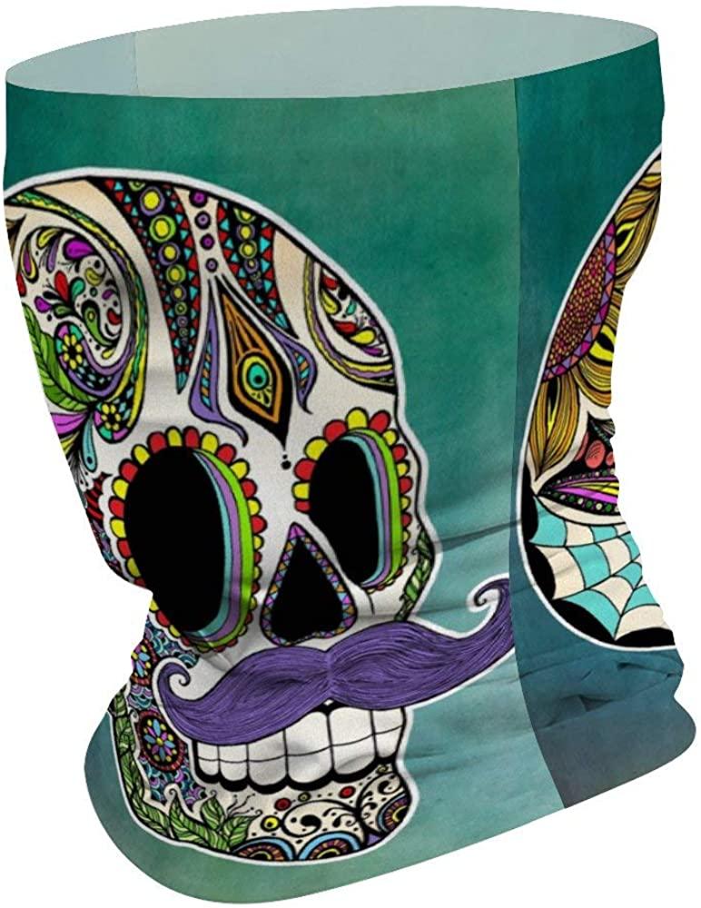 Skull Series Fashional Men Women Scarf Shield Bandana Balaclava Neck Gaiters for Dust