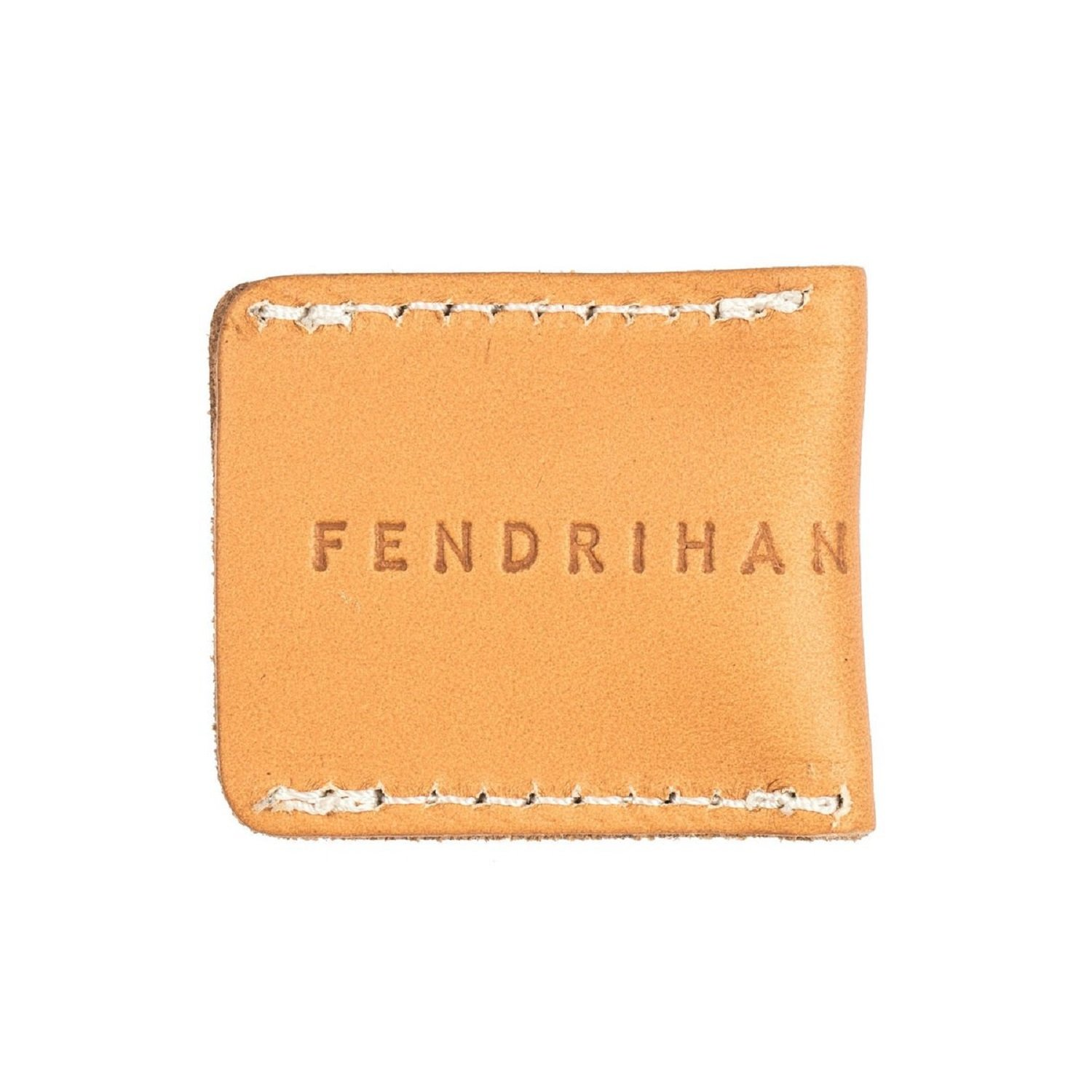 Fendrihan Safety Razor Head Leather Cover Sheath, Natural Tan