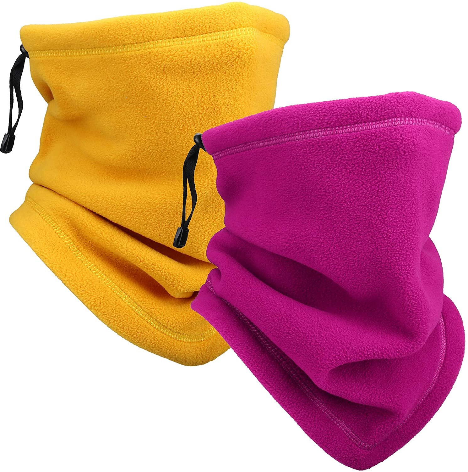 WTACTFUL Thicken Fleece Adjustable Neck Warmer Face Mask for Skiing Snowboarding Winter Outdoor Sports