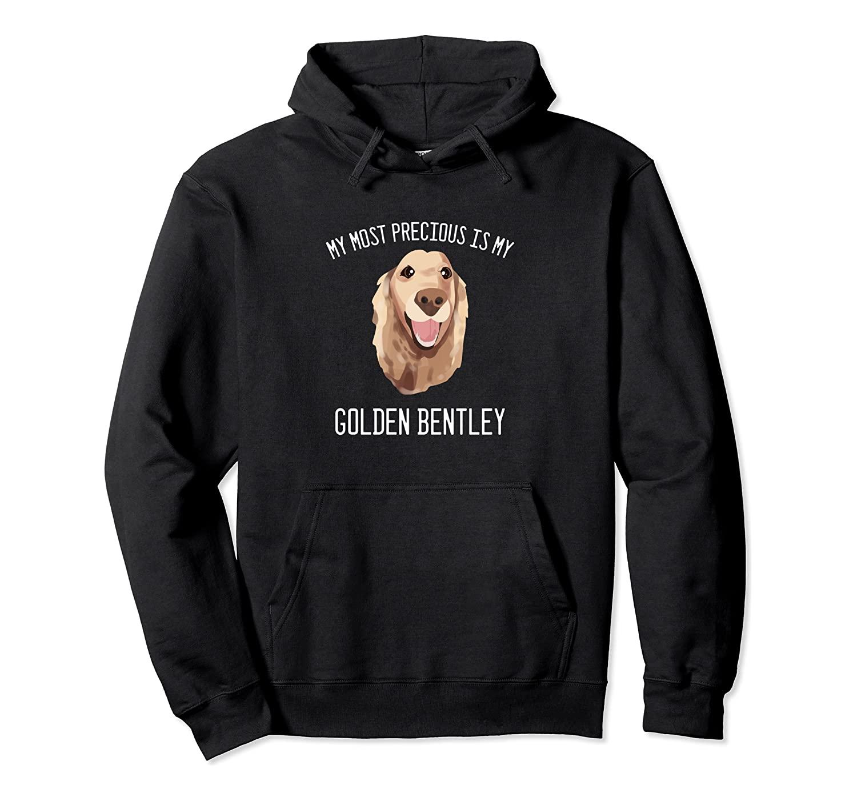 Golden Retriever Bentley Dog Person Pullover Hoodie