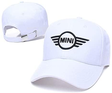 Yoursport Baseball Cap,Unisex Adjustable Hat Travel Cap for Man,Women - Fit Mini Accessories (White)