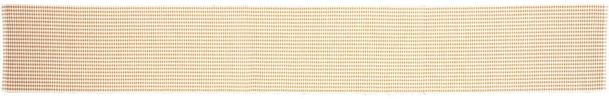 VHC Brands Harvest & Thanksgiving Farmhouse Tabletop & Kitchen-Tara Yellow Ribbed Table Décor, Runner 13x90