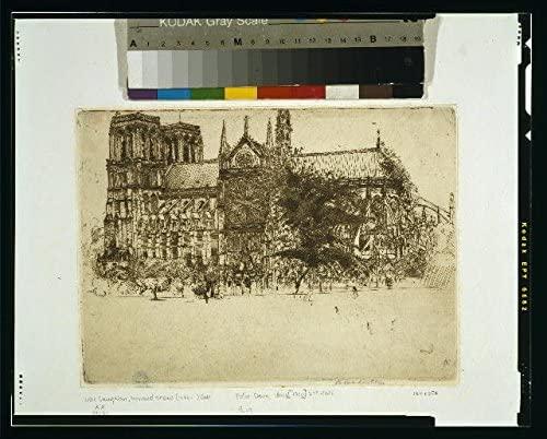 Photo: Notre Dame,Paris,France,1900,Donald Shaw MacLaughlan,Cathedral