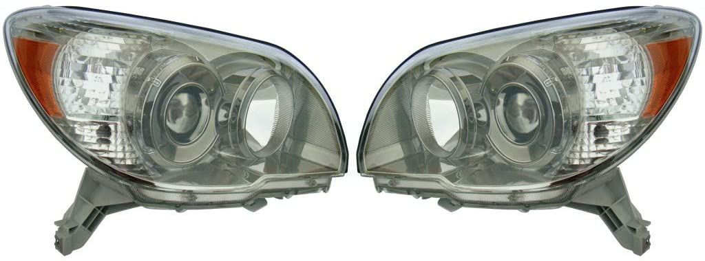 KarParts360: For 2006 2007 2008 2009 TOYOTA 4RUNNER Head Light Assembly Pair Driver and Passenger Side Replaces TO2502165 TO2503165