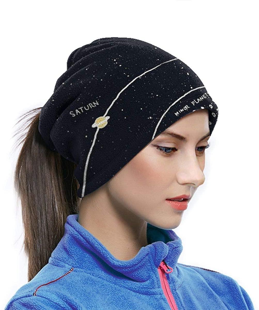 Solar System Creative Unisex Funny Neck Warmer Men Women Neck Gaiter Elastic Seamless Face Mask Headband Bandana For Outdoor Sport