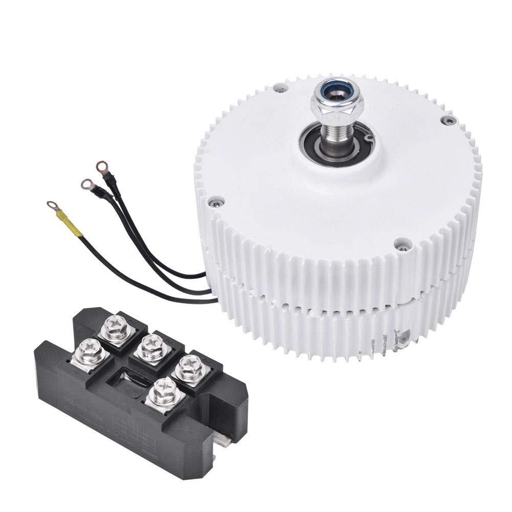 NE-400 950r/m 400W 24V Permanent Magnet Generator 3-Phase Synchronous Alternator for Vertical or Horizontal Wind Turbine((Generator + Rectifier))