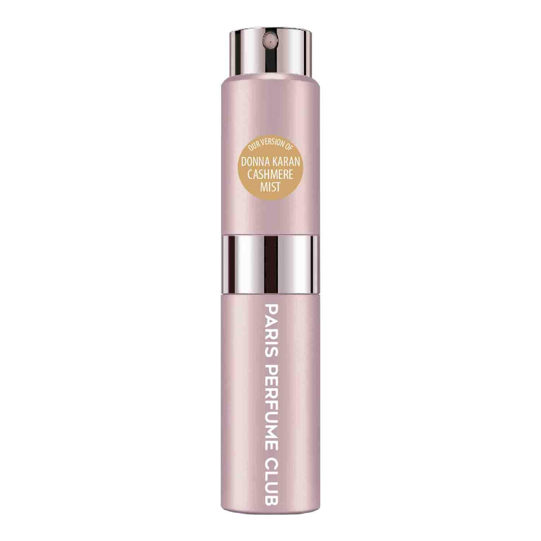 CA Perfume Club Our Version of Cashmere Mist Travel Sample Size Refillable Atomizer Replica Designer Fragrance Eau de Parfum/Cologne Sprayer (0.27 Fl Oz/ 8ml)
