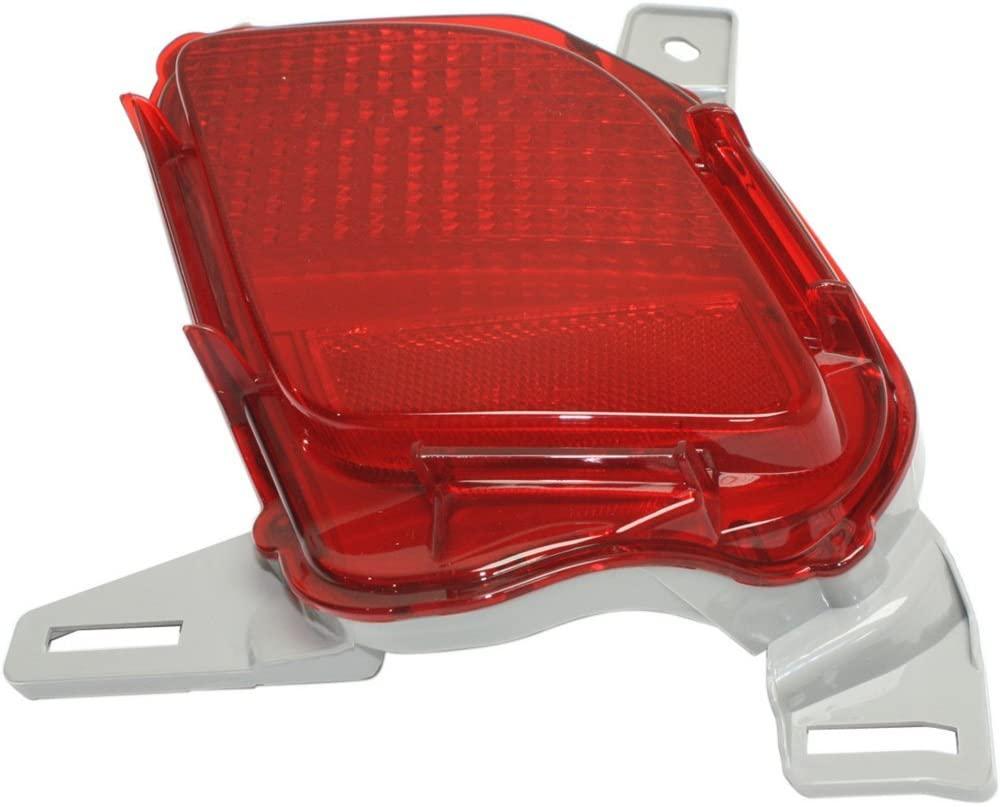 DOT/SAE Compliant Bumper Reflector Rear Light Lamp Right Side for Highlander 14-17