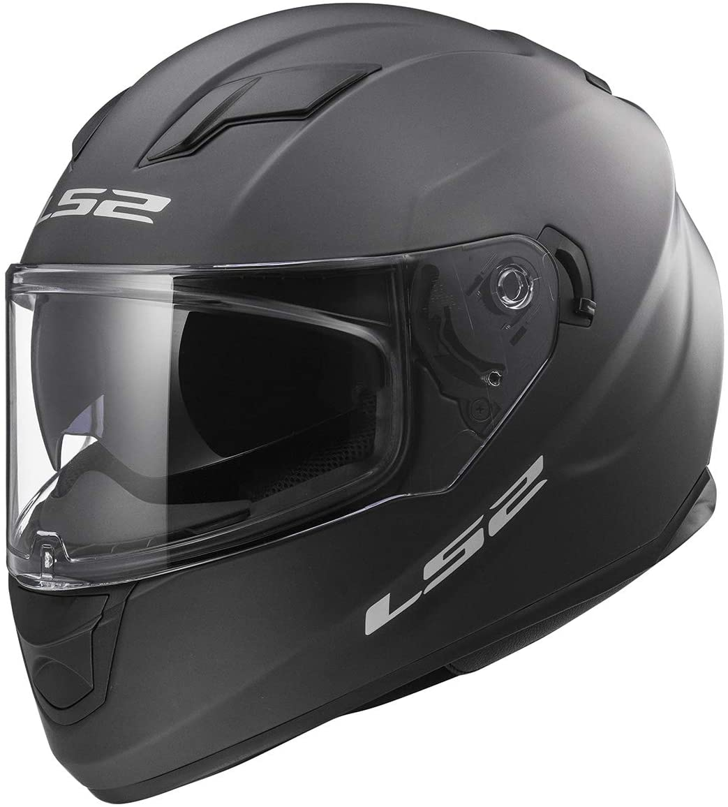 LS2 Helmets Full Face Stream Street Helmet (Matte Titanium - X-Large)