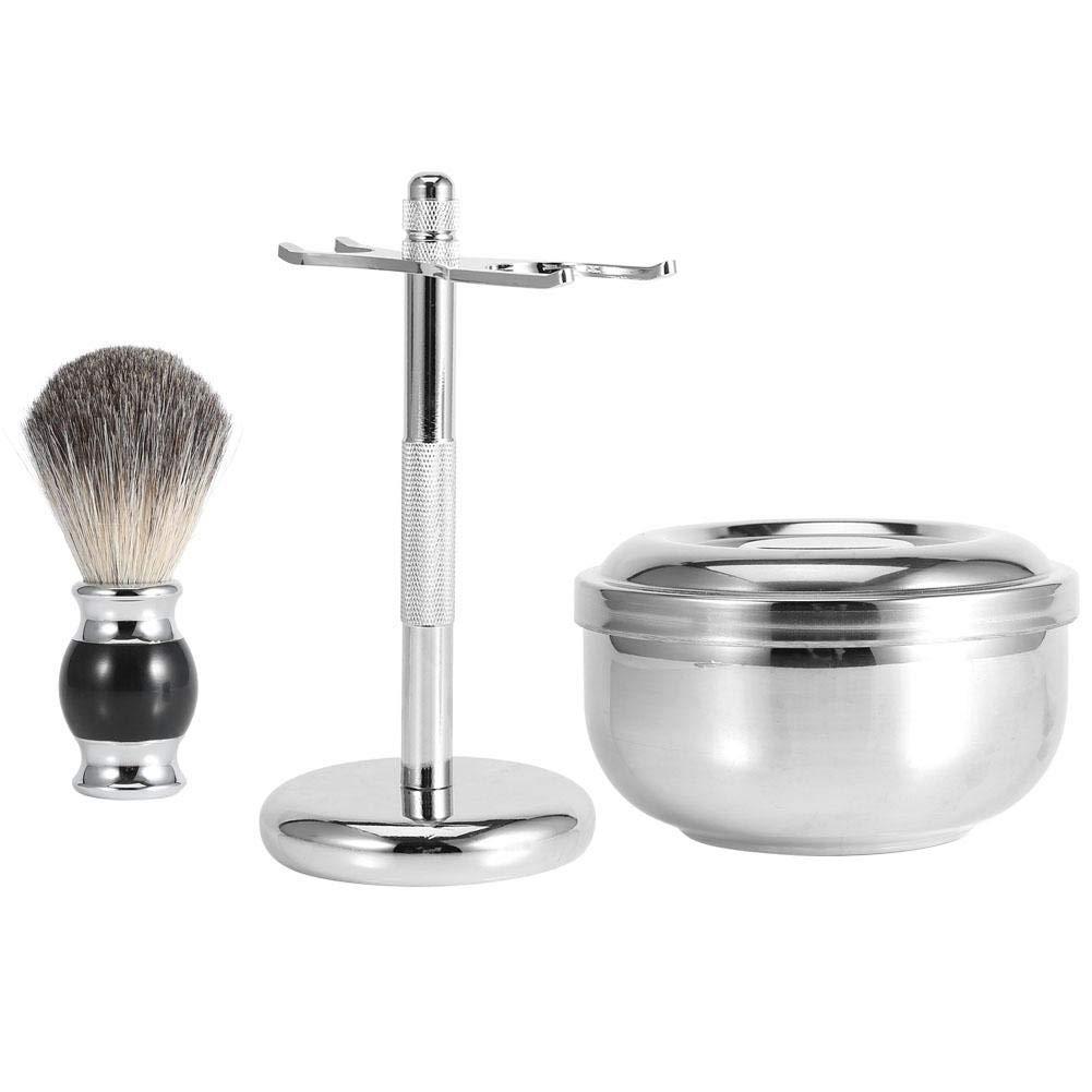 Men's Luxury Shaving Grooming Set, Shaving Brush Set for Men Including Hair Shave Brush, shaver Stand, Soap Bowl