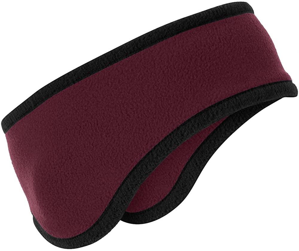 Armycrew Two-Color Warm Winter Fleece Headband