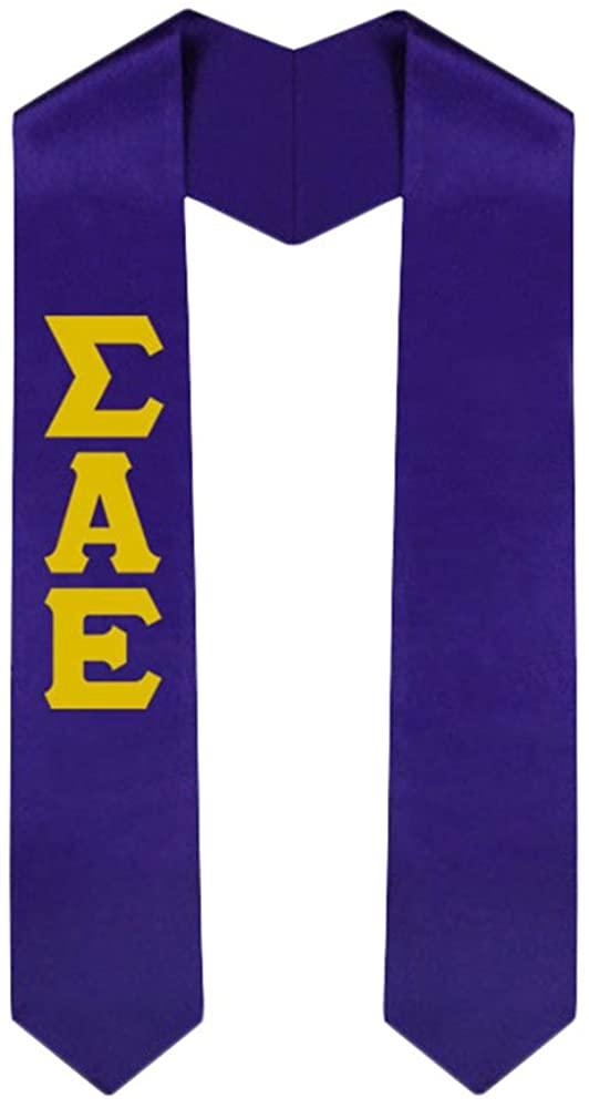 Custom Sigma Alpha Epsilon SAE Graduation Stole Sash