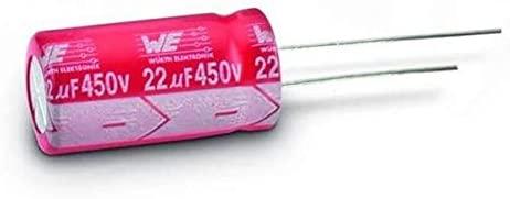 Aluminum Electrolytic Capacitors - Radial Leaded WCAP-AT1H 35V 470uF 20% ESR 214mOhms, Pack of 50 (860240578010)