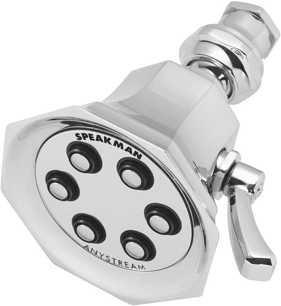 Speakman S-2255-E175 Vintage Shower Head, 1.75 GPM, Polished Chrome
