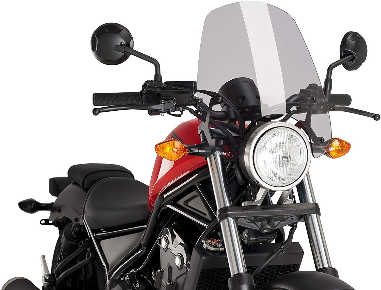 Puig Winds. New Generation Honda Rebel 500 17-20 C/Smoke, Model: 9462H