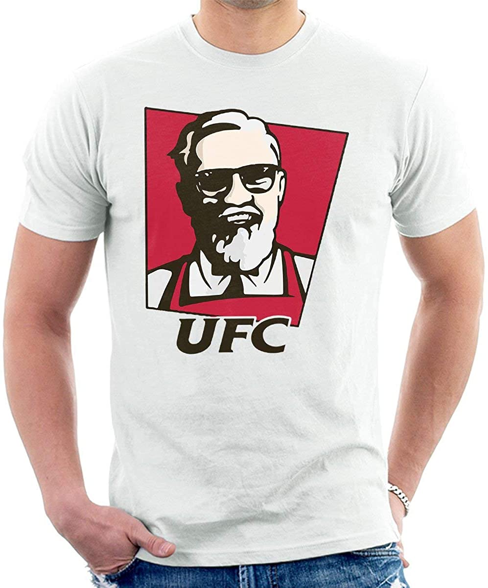 IHDABGDM Ultimate Fried Chicken Conor McGregor Mens T-Shirt