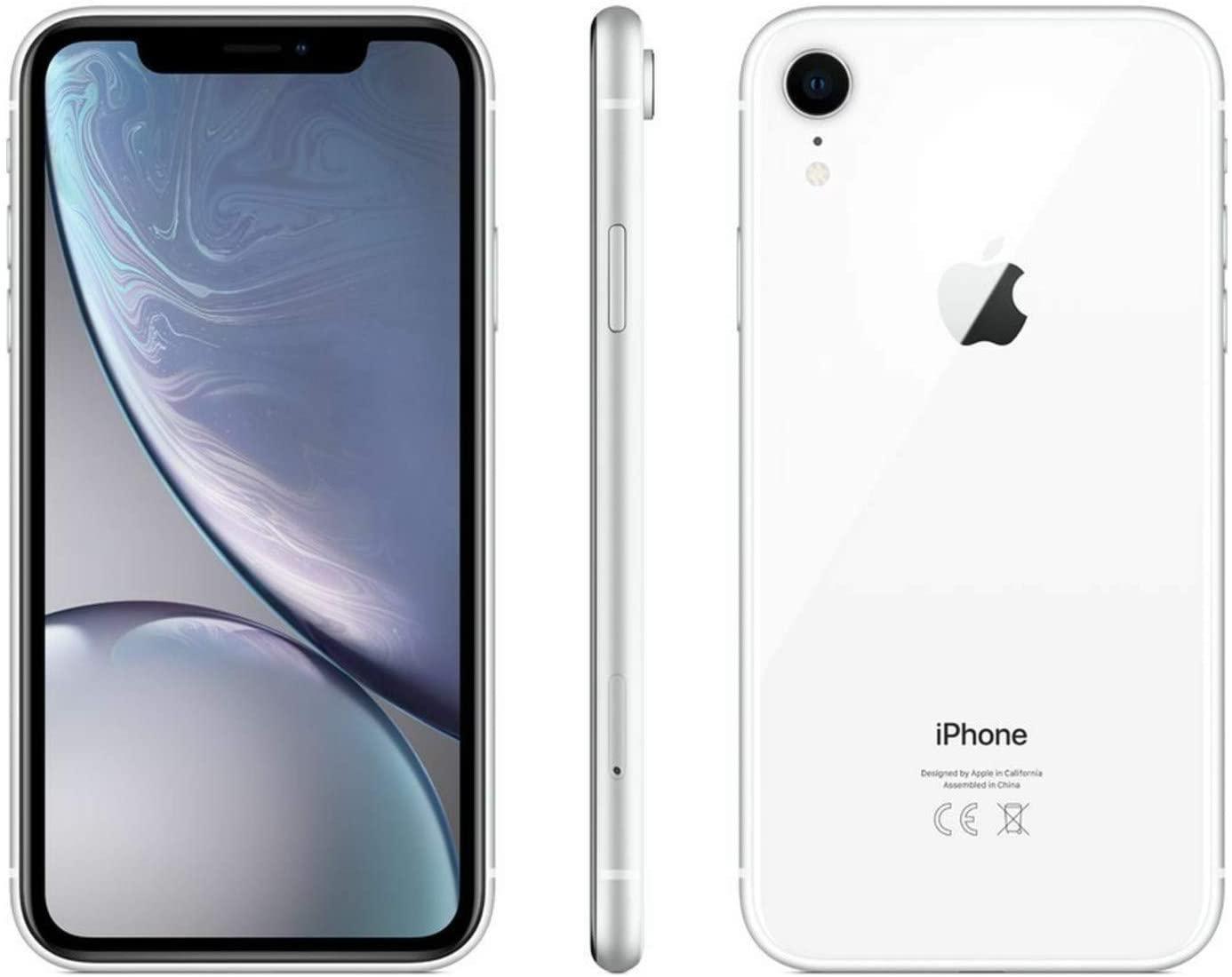 Apple iPhone XR, 128GB, White - For Verizon (Renewed)