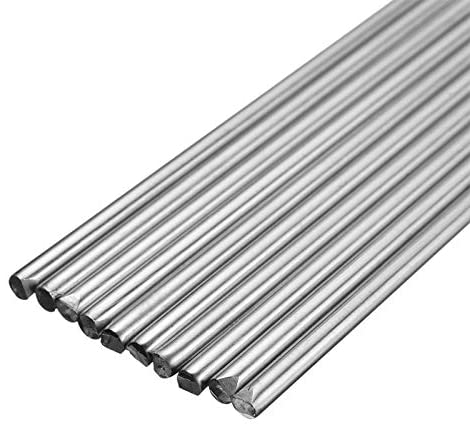 Mintus 10Pcs Stainless Steel Welding Rods 1.2/1.6/2.4mm Welding Rods Filler 330mm Long For TIG Welding Accessories