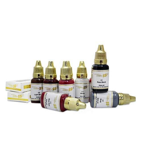 Premium CELLU SS+ machine pigment 15ml for Semi Permanent Makeup (13 Pink)