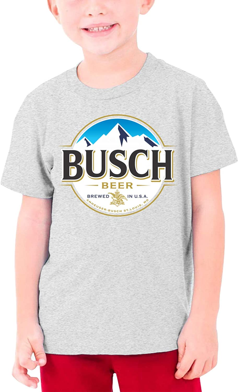 Ramivox Busch -Latte Boys and Girls S-Ml Cotton T-Shirt Short Sleeves Black