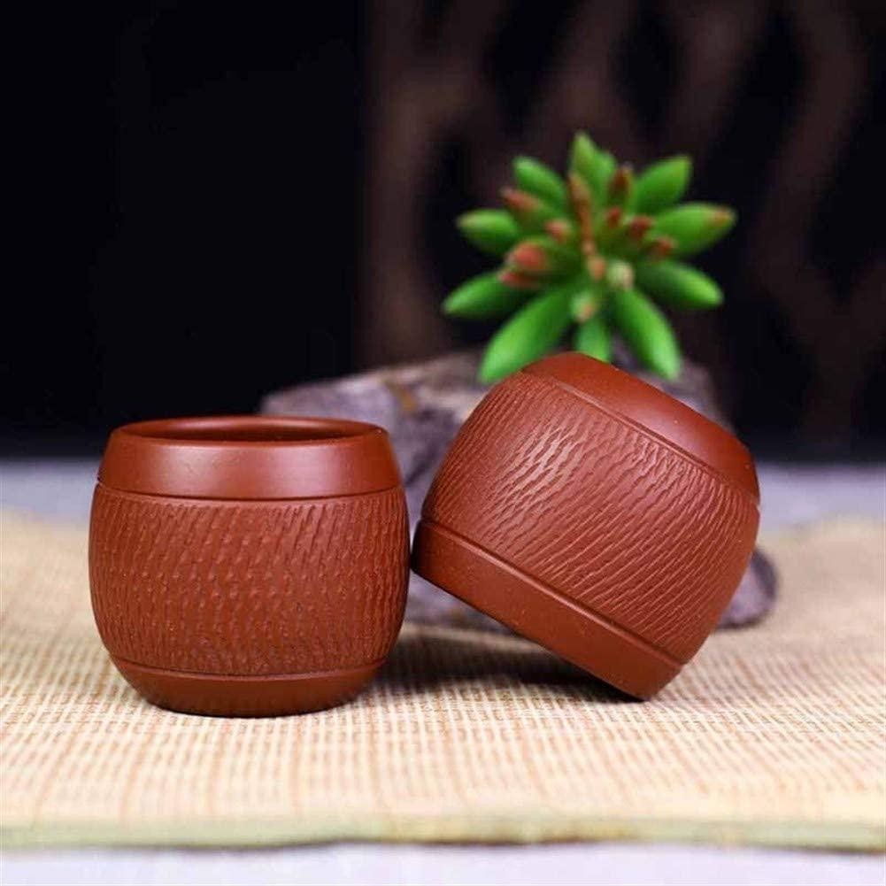 QinMei Zhou Hand pick knife tea cup kung fu small cup single cup of tea cup of tea cup of tea cup main population (Color : Purple mud)