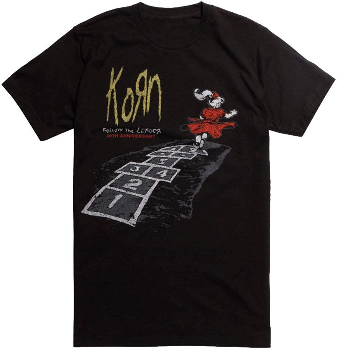 Hot Topic Korn Follow The Leader 20th Anniversary T-Shirt Black