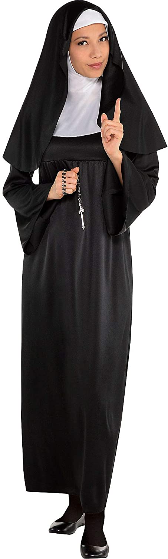 amscan Sister Adult Nun Costume