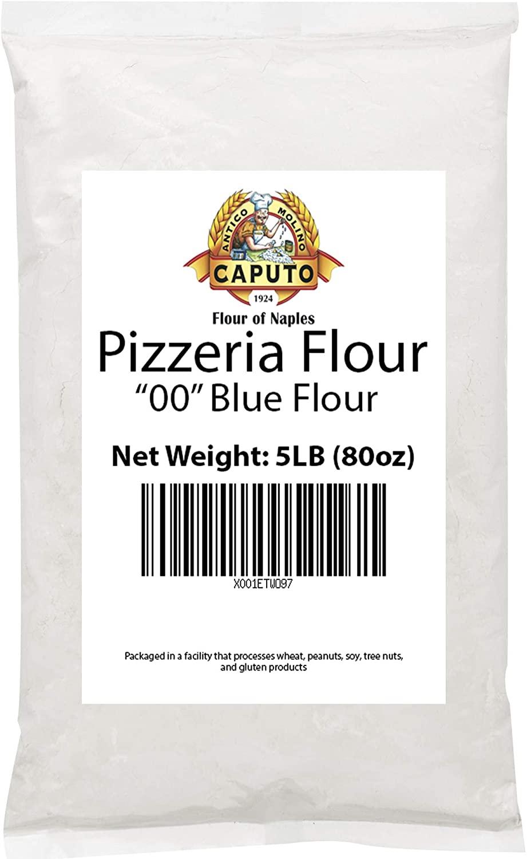 Antimo Caputo Pizzeria Flour (Blue) Repack - Italian Double Zero 00 Flour for Authentic Pizza Dough