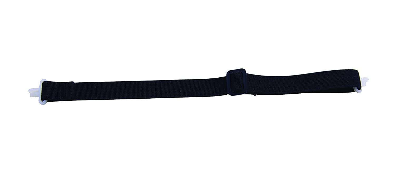 Bullard ES42B Black 2-Point Latex-Free Elastic Chinstrap for Helmets, One Size