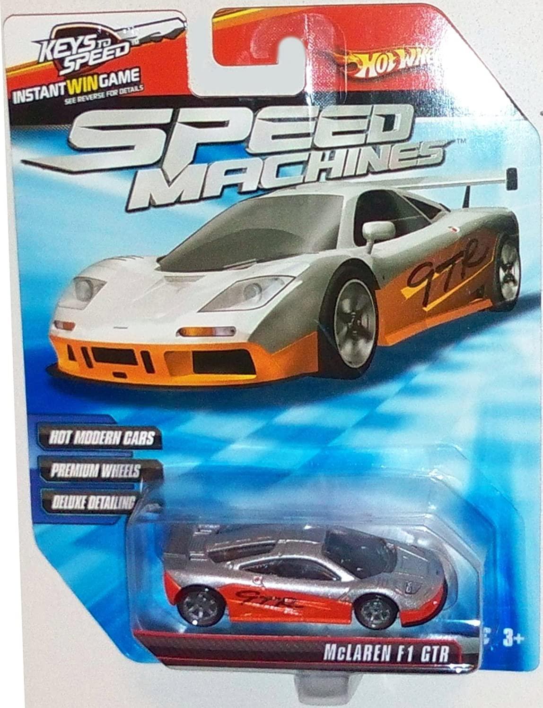 Hot Wheels Speed Machines Mclaren F1 GTR