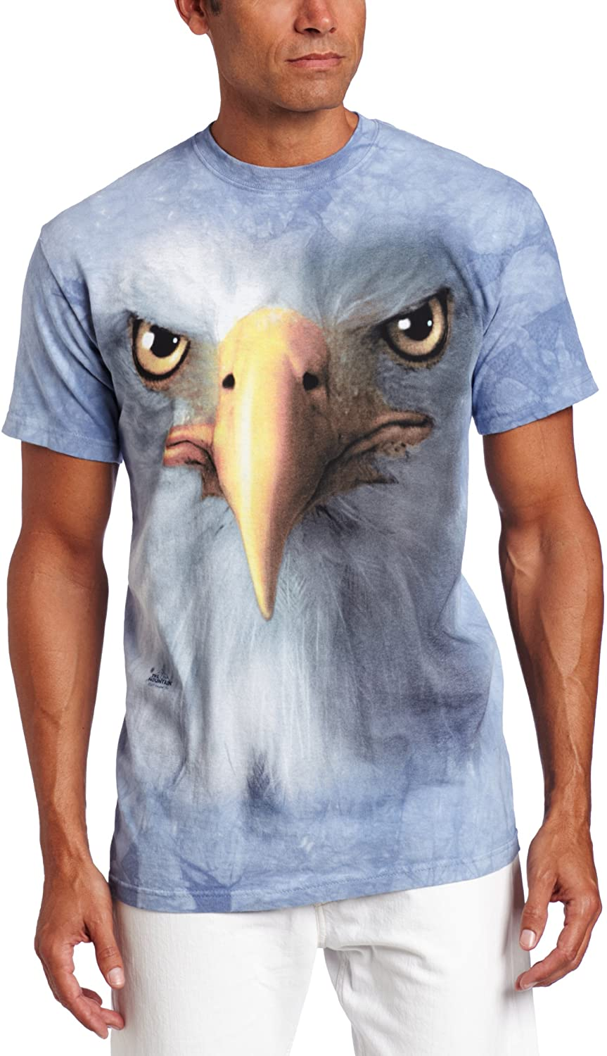The Mountain Men's Standard Eagle Face Adult Tee