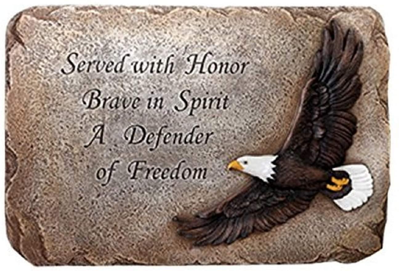 Napco Patriotic Soaring Eagle Plaque